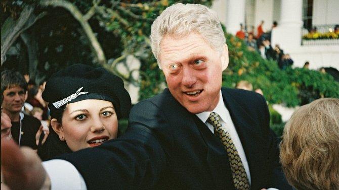 Monica Lewinsky se do Billa Clintona zamilovala, jejich vztah ale neměl budoucnost