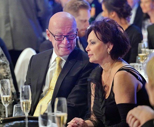 Ilona Svobodová se svým současným partnerem