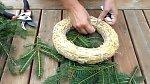 1. Větvičky nastříháme na cca 15 cm dlouhé kousky.