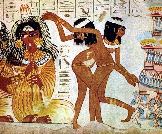 Ilustrační foto - ženy ve starověkém Egyptě