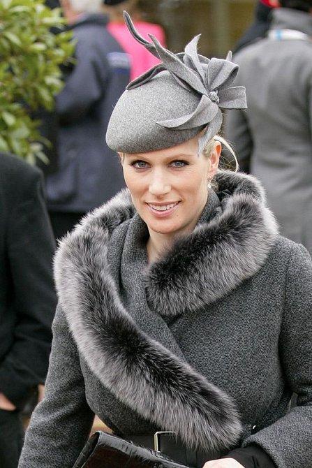 V královské rodině se kožešiny těší velké oblibě. Zara Tindal se jich po vzoru své babičky zřejmě nevzdá.