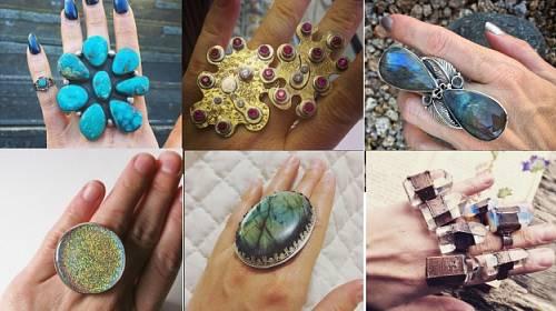 Originální prsteny