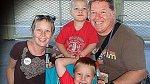 Rodina Greenovic ještě v dobách zdraví a štěstí.