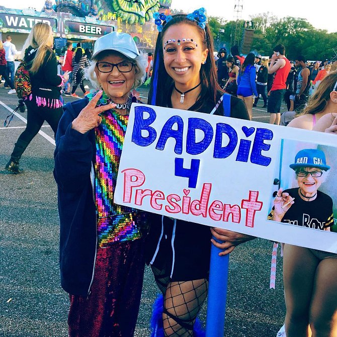 Baddie Winkle je neřízená střela.