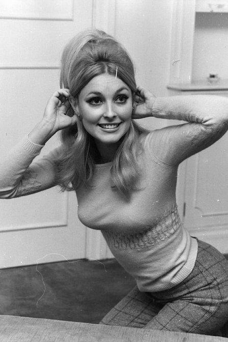Sharon Tate byla vycházející hvězdou, měla i nominaci na Zlatý globus.