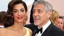 George Clooney se musí pořádně ohánět, aby byl neustále zajímavý pro svou překrásnou a hlavně úspěšnou ženu Amal. Ta od něj obdržela kabelku z krokodýli kůže s monogramem ozdobeným diamanty.