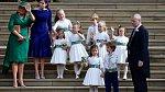 Děti byly ozdobou celé svatby.