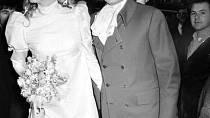 Svatba se konala 20. ledna 1968.