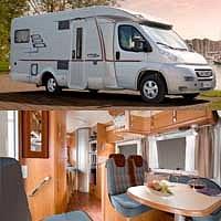 Atraktivní karavan