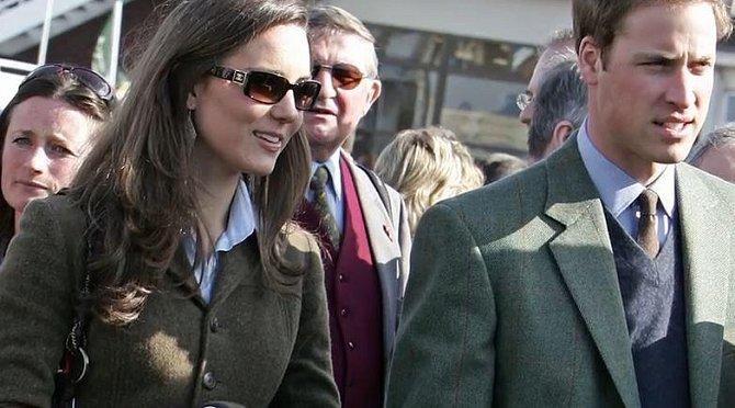 Toto jsou pravděpodobně poslední společné snímky Kate a Williama před rozchodem v roce 2007.