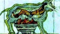 Býk byl sestrojen tak, že jeho nozdrami vycházel kromě kouře ze spáleného masa, také strašlivý ryk umírajícího. To bylo považováno za velmi vzrušující a Řekové často během těchto poprav pořádali také sexuální seance plné v?...