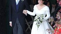 Svatba princezny Eugenie a Jacka Brooksbanka