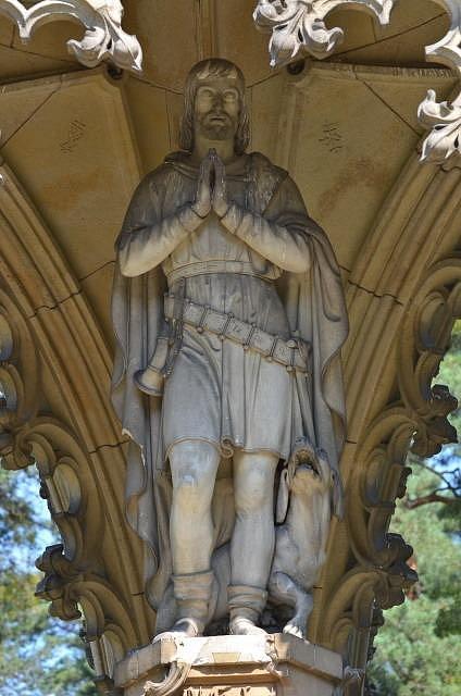 Svatý Hubert, patron lovců a myslivců a zakladatel města Lutychu