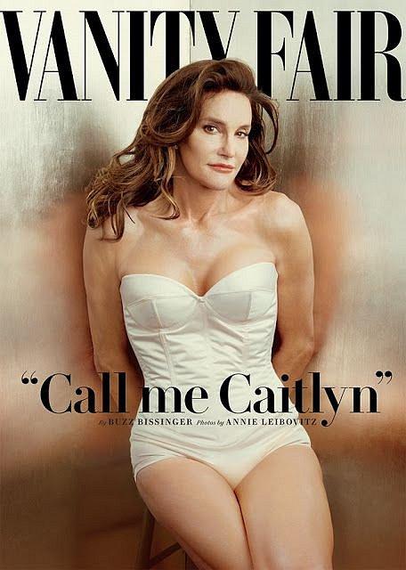Caitlyn Jenner se v roce 2015 objevila na titulce Vanity Fair.