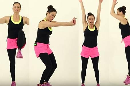 Cvičení s Hankou Kynychovou: Jak na Pevný zadek snadno a rychle