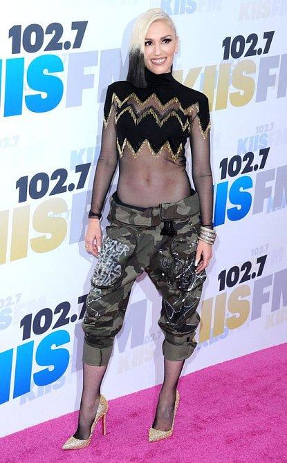 Gwen Stefani proslula svým svérázným módním stylem.