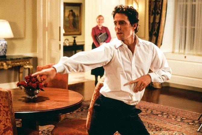 Hugh Grant tancovat nechtěl
