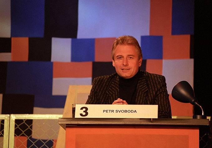 Petr Svoboda v pořadu Čtveráci