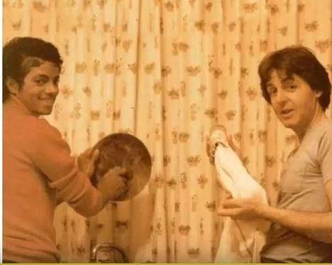 Michael Jackson a Paul McCartney