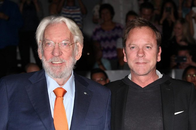 Kiefer Sutherland a Donald Sutherland