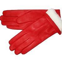 Červené rukavice s králíkem