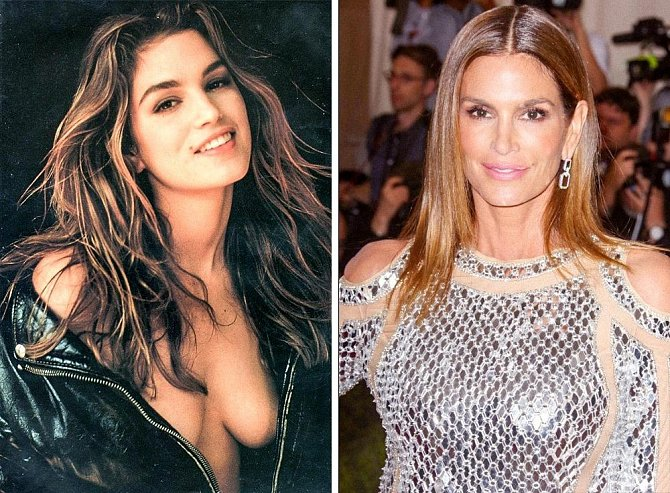 Cindy Crawford 1994 - 2017