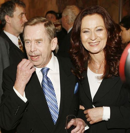 Simona Stašová, Václav Havel