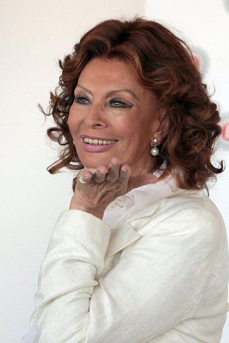 Sophia Loren je žena s velkým Ž.
