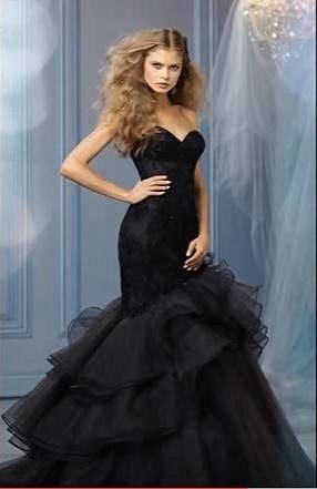 Další černé svatební šaty