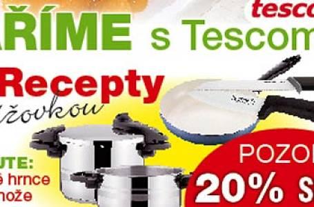 Kuchyňské potřeby Tescoma se slevou 20%