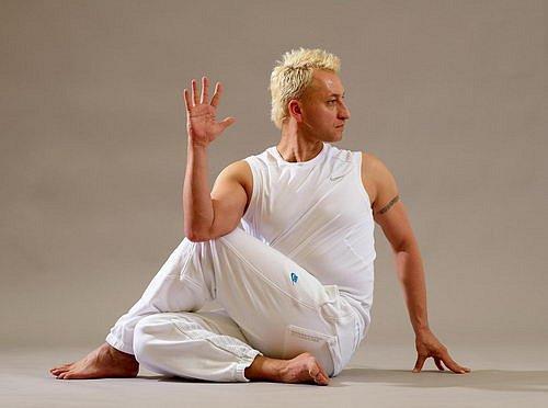Vašek Krejčík, jóga, cvičení