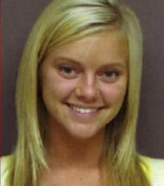 Lindsey Evans - foto ze zatčení