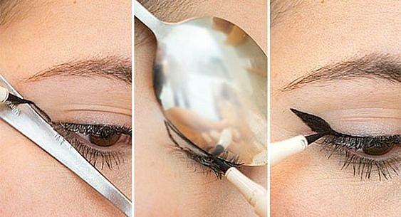 I lžička může posloužit k make-upu.