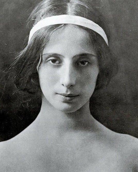 Ruská balerína Anna Pavlovová