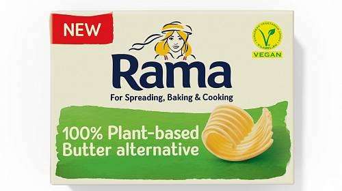 Rama 100% rostlinná alternativa másla