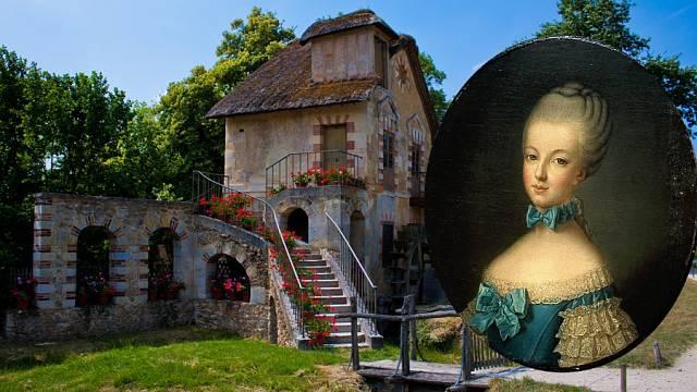Portrét Marie Antoinetty