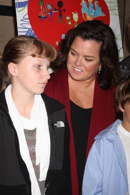 Rosie O'Donnell se svou dcerou Chelsea