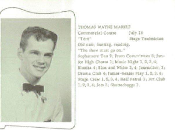 Otec Thomas Wayne Markle