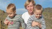 Kate se svými syny.