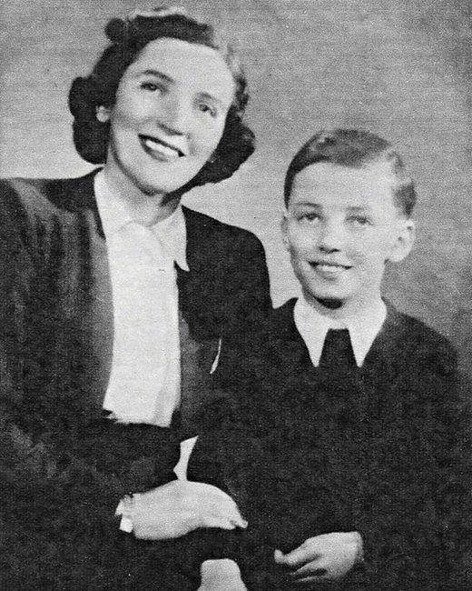 Karel Gott s maminkou