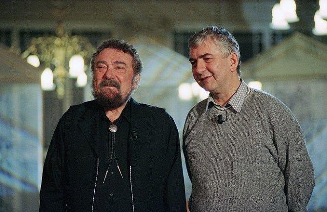 Waldemar Matuška s Miroslavem Donutilem