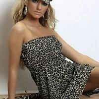Leopardí šaty pro rebelky