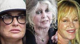celebrity, které zestárly do strašné podoby
