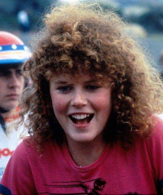 16 let - Nicole Kidman ve svém prvním filmu Bandité na BMX (BMX Bandits)