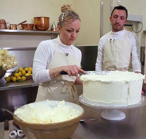 Výroba dortu