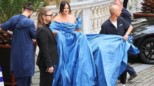 Jitka Čvančarová vynesla odvážné šaty