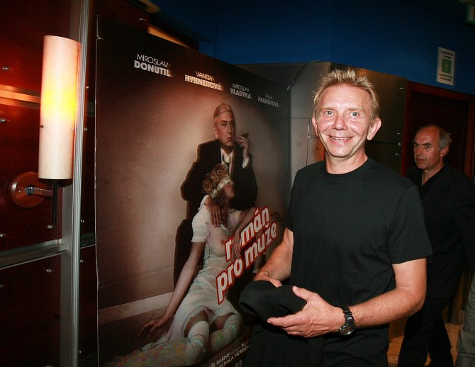 Miroslav Vladyka si zahrál v úspěšném filmu Román pro muže.
