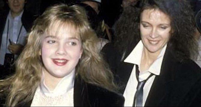 Drew Barrymore s matkou Jaid