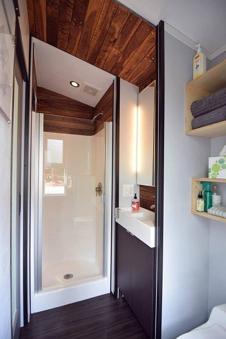 Koupelna v domě.