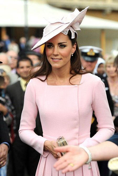 Jemné barvy má Kate v oblibě.